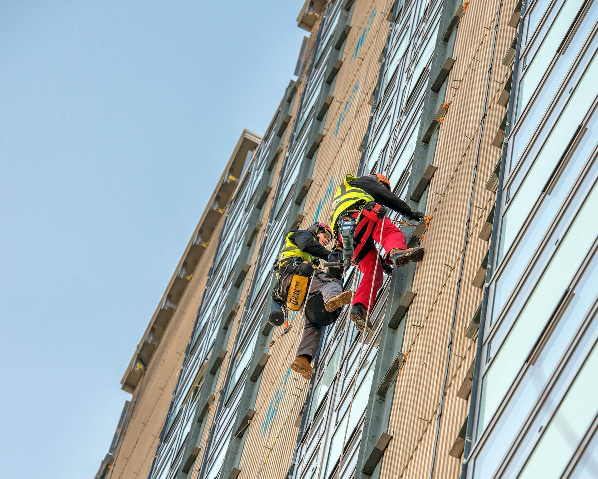 Cladding removal in London