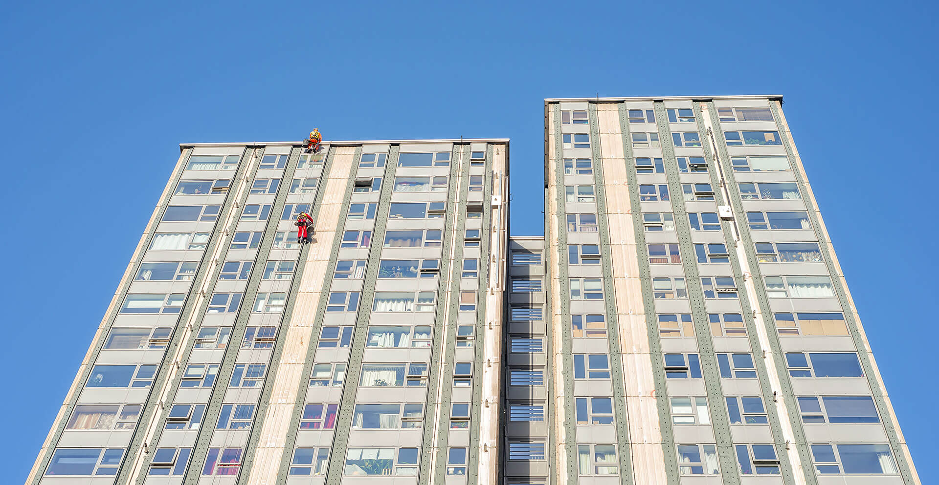 rope access window cleaners