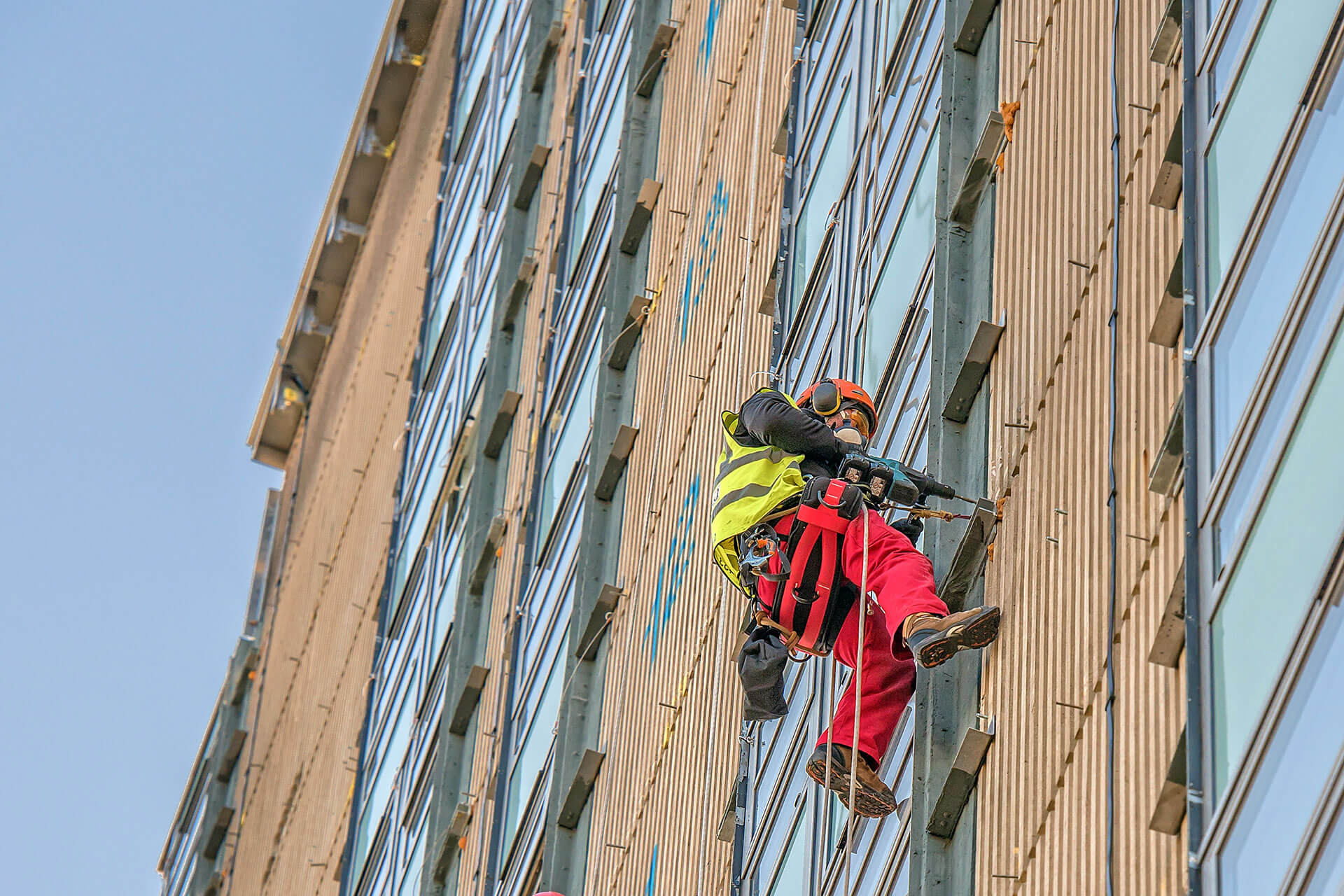 cladding installation in London