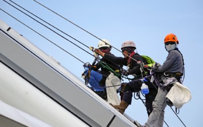 Safety practices when working at heights